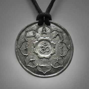 Yoga Necklace Yoga Poses Medallion Yoga Jewelry Yoga Lotus Om Necklace Yoga Womens Jewelry Yoga Unisex Jewelry Gift For Him